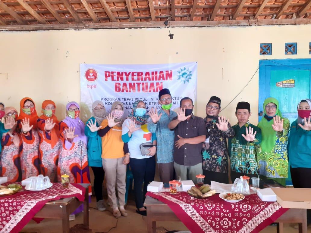 Sekolah di Songbanyu Dapat Bantuan Puluhan Juta