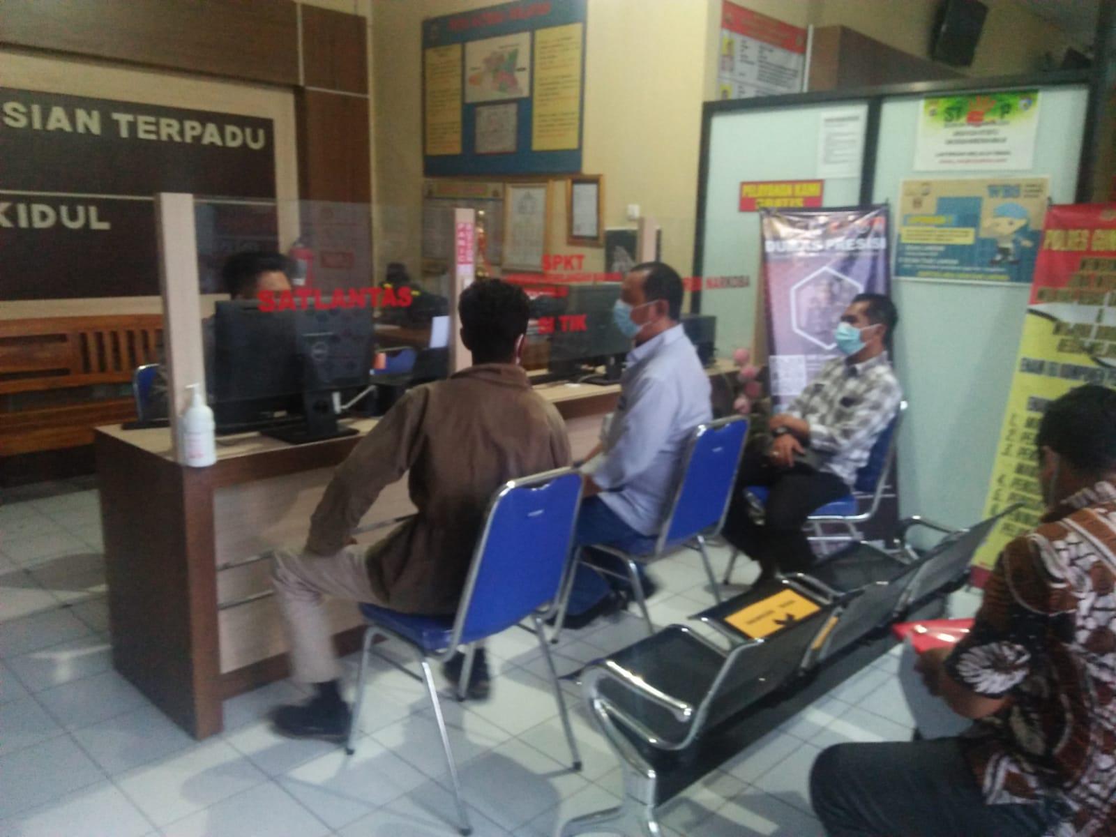 Kuasa Hukum Suyanto Mendatangi Polres Gunungkidul