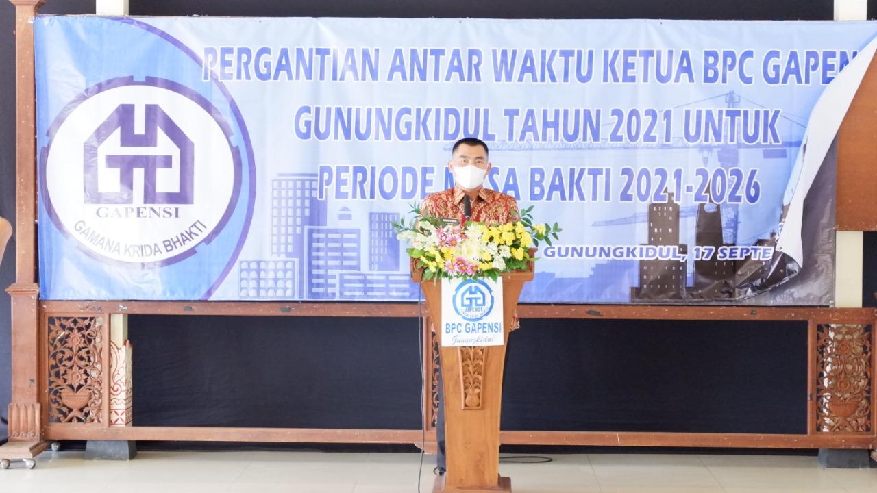 Sunaryanta Dalam Acara PAW Ketua Gapensi